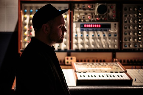 DJ Shadow in his home studio. - PHOTO BY DERICK DAILY