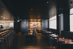 Shinmai's main dining room. - PHOTO COURTESY OF JEREMY CHIU