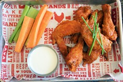 Wing me. - COURTESY OF PROPOSITION CHICKEN