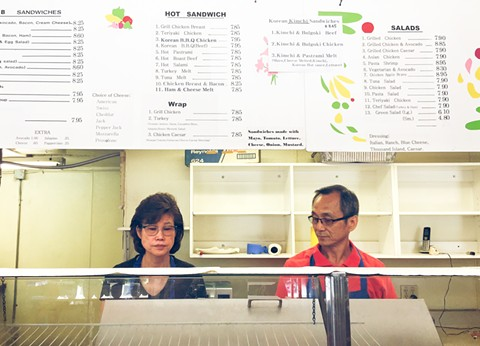 Jung Sook Park, left, and Yong Soo Jung lost their business and most of their money within a few weeks - and now may face losing their visas. - PHOTO BY ASHLEY WONG