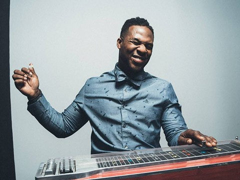 Robert Randolph and his steel guitar. - PHOTO BY SHANE MCCAULEY