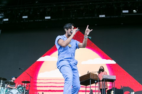 Young the Giant - PHOTO BY AMIR CLARK
