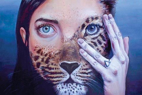 The Animal Inside by Olympia Altimir Galvez - PHOTO COURTESY OF FELICIA ANN