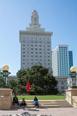Oakland City Hall. - BERT JOHNSON/FILE PHOTO