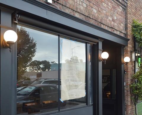 The exterior of Albany's upcoming neighborhood restaurant. - COURTESY OF JUANITA & MAUDE