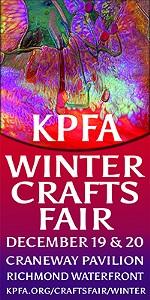 45th Annual KPFA Winter Crafts Fair!