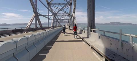 Bicycle Path for Richmond-San Rafael Bridge May Be Used for Cars