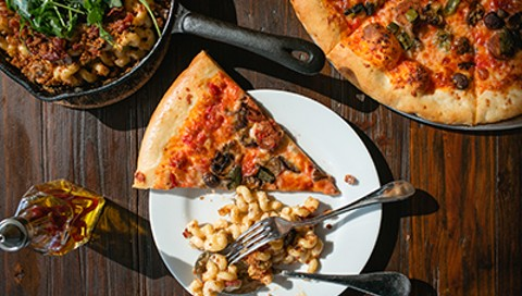 Portal Owner Goes Pizza with Philomena in East Oakland