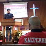 State Senator Kevin de León Visits Oakland to 'Celebrate' New Sanctuary State Law