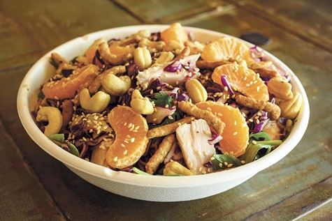 The Chicken Lover salad will blow you away.