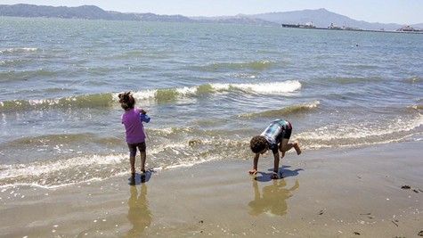 Keller Beach was judged to have the ninth worst water quality in California.