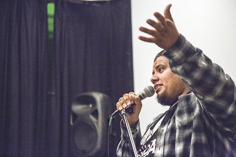 JD Arandia turned his foray into comedy into stewardship of the city's Homegrown Comedy nights.
