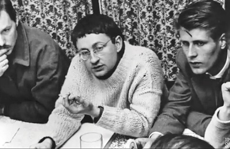 The Society of the Spectacle, the Situationist manifesto penned by Guy Debord (in sweater, right) resonated with the student protesters in 1968 Paris.
