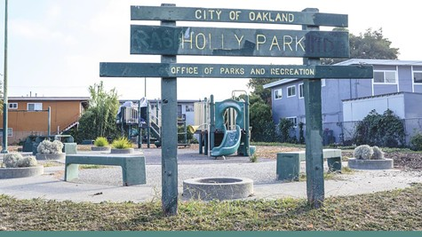 When the city renovated East Oakland's Holly Park, few people came to the reopening according to council member Larry Reid.