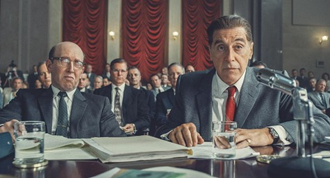 Al Pacino as Jimmy Hoffa