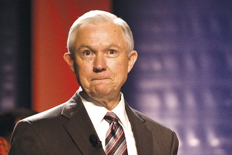 ROACH: Former Attorney General Jeff Sessions was quoted saying he like the Ku Klux Klan just fine 'until I found out they smoked pot'.