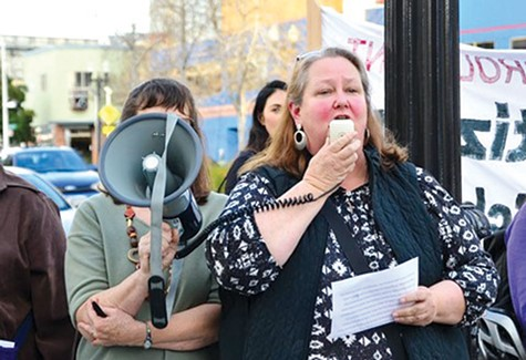 LESSON: Oakland teachers demonstrating for higher wages and benefits in 2019. Oakland's school year is due to begin next week.