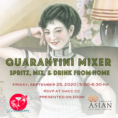 Halloween Events Carnelian Bay 2020 Quarantini Mixer: Spritz, Mix, and Drink From Home with Viridian