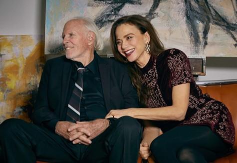 Bruce Dern & Lena Olin in The Artist's Wife