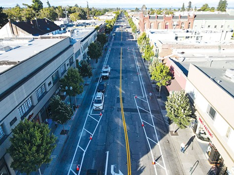 ROAD UNTRAVELED: Development of housing in Alameda could take a new direction if voters decide to pass Measure Z.