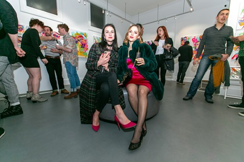 Young Collectors event at Voss Gallery