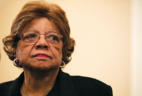 RESIGNED: Alice Huffman resigned as president of the California State Conference of the NAACP, after controversy over the fact that she collected millions of dollars in fees from corporate interests as her organization sided with them on state ballot measures.