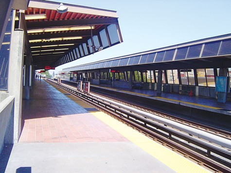 STOP: Fruitvale BART station, where Oscar Grant was shot and killed.