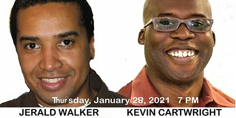 Jerald Walker and Kevin Cartwright: A Zoom Event: How to Make a Slave and Other Essays