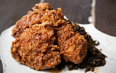 If you eat fried chicken primarily for the batter, you'll like the Starline's version.