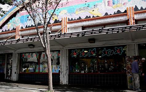Amoeba's flagship store in Berkeley.