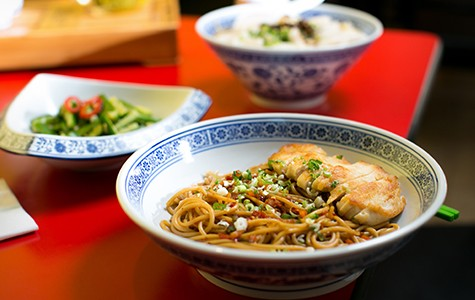 The Jiangxi rice noodles are the one specialty you won't find anywhere else in the East Bay.