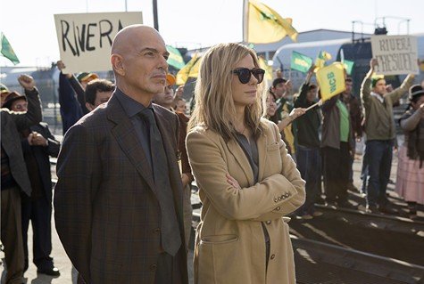 Billy Bob Thornton and Sandra Bullock star in Our Brand Is Crisis