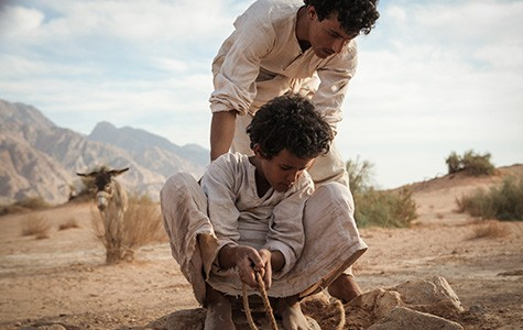 Non-actor Jacir Eid stars in Theeb.