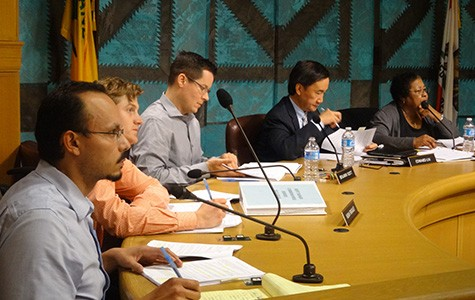 The Oakland rent board discussed the proposed fee hike at last week's meeting.