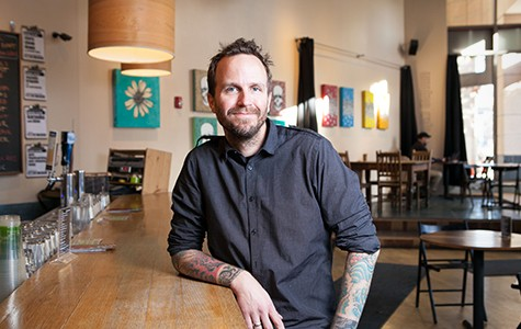 Inspired by REI, Awaken Cafe owner Cortt Dunlap is also closing his business on Black Friday.