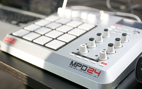 The Akai MPD24 is a versatile controller for DJing and production.