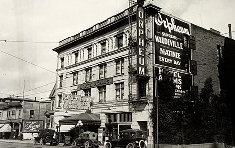 The Orpheum Theatre opened in 1907.