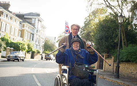 Maggie Smith and Alex Jennings star in The Lady in the Van.