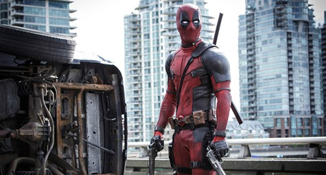 Ryan Reynolds stars in Dead Pool.