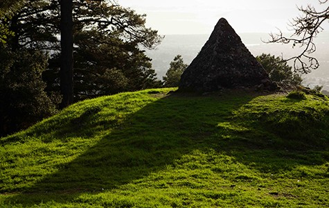 Joaquin Miller erected this stone pyramid in honor of the prophet Moses.