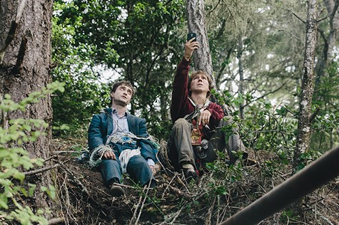 Daniel Radcliffe and Paul Dano in Swiss Army Man.