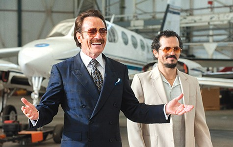Bryan Cranston (left) and John Leguizamo in The Infiltrator.