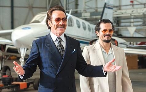 Bryan Cranston (left) and John Leguizamo in The Infiltrator.