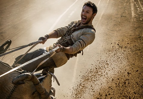 Jack Huston in Ben-Hur.