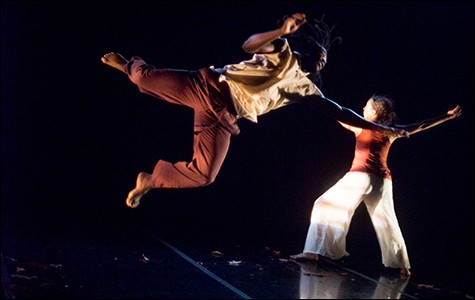 Chanel Bibene and Chris Evans are among the Black Choreographers Festival performers.