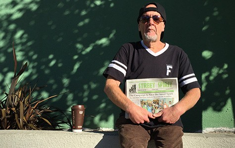 William Trezza says he won't mind paying five cents to distribute a copy of Street Spirit.