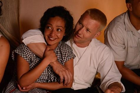 Ruth Negga (left) and Joel Edgerton in Loving.