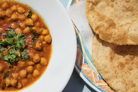 Jotmahal serves one of the best versions of chole bhature — fried bread with chickpea curry — in the East Bay.