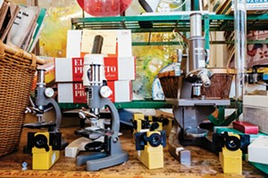 Turn random items into personal treasures at East Bay Depot For Creative Reuse. - PHOTO BY DARRYL BARNES