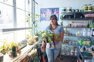 Corrie Abraham will help you learn how to grow your own at Berkeley Indoor Garden (page 87). - PHOTO BY LANCE YAMAMOTO